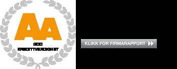 Logo for kredittverdighet
